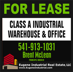 Brent McLean Commercial Real Estate Eugene Oregon